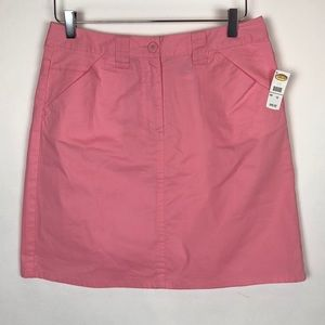 NWT Talbots Career Work Pink Skirt